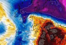 Las precipitaciones podrán ir acompañadas de polvo sahariano