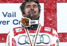 Doble campeón del mundo de slalom, Jean-Baptiste Grange se retira a los 36 años.