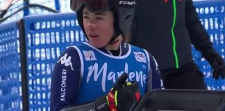 Sofia Goggia podría tomar parte en el descenso de Lenzerheide después de lesionarse hace casi mes y medio en Garmisch.