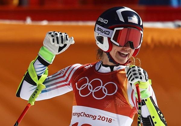 Laurenne Ross, una de las tres retiradas del equipo estadounidense femenino.
