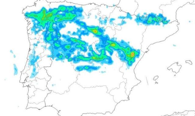 Precipitaciones generalizadas el viernes Santo