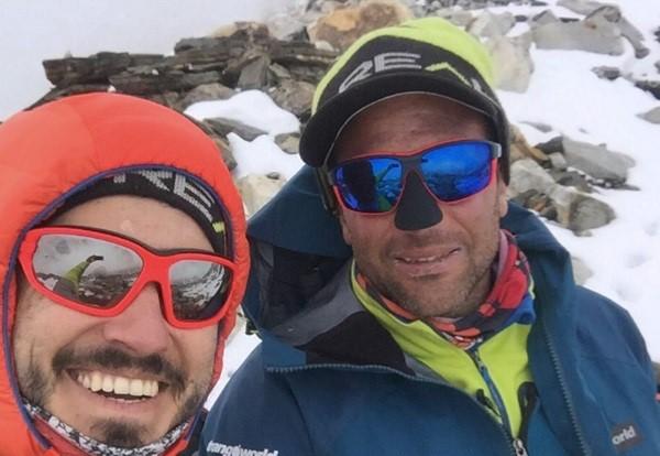Txikon ha decidido renunciar al Everest ante el avance la pandemia en esa zona del Himalaya. Facebook A.T.