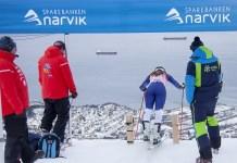 Ver el mar desde el portillón de salida, uno de los atractivos de Narvik. FOTO: narvik2020.no