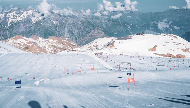 La estación tiene todo a punto para la apertura del glaciar