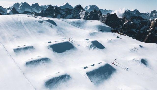 Una imagen del snowpark