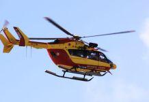 Una imagen del helicóptero Dragon 64