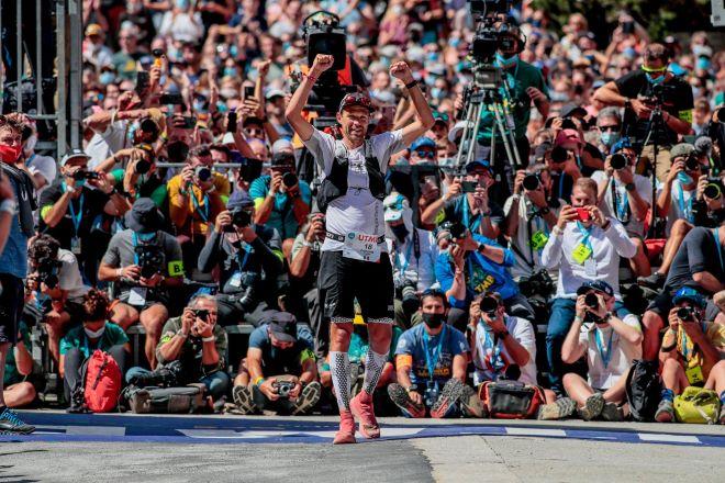El francés aclamado por el público en las calles de Chamonix