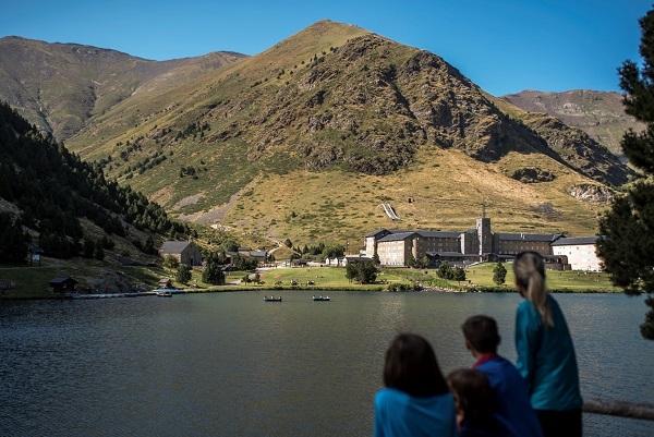 Vall de Núria ha incrementado casi un 20% sus visitas. FOTO: FGC