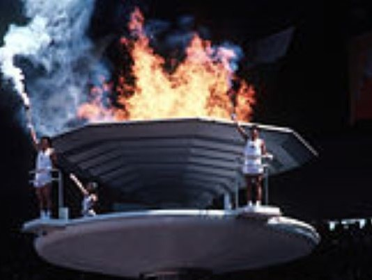Una imagen de la llama olímpica