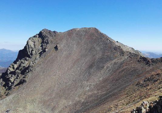 Una imagen del pico Infierno