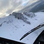 El helicóptero sigue buscando a los desaparecidos en el Chimborazo