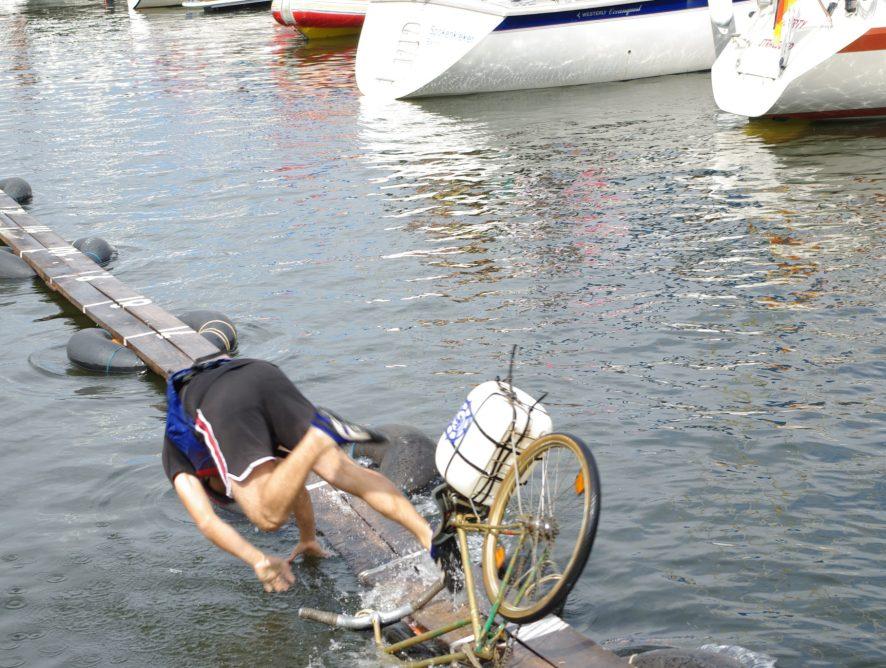 Rowerem do wody!