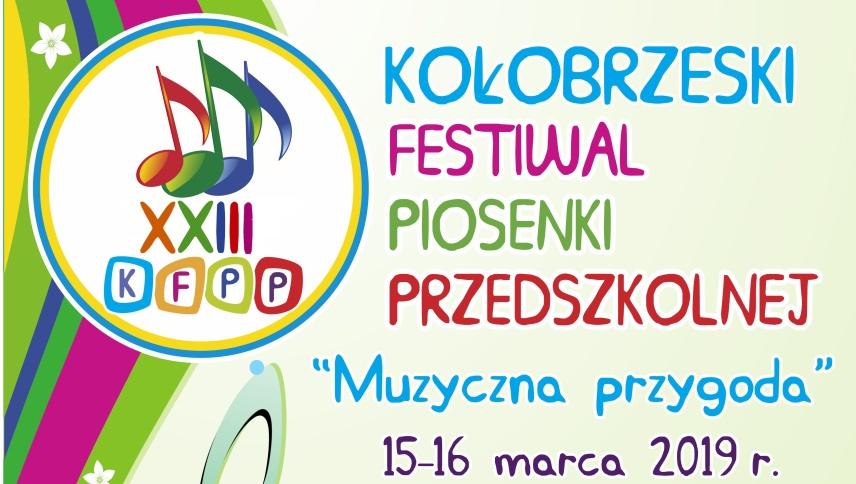 XXIII Kołobrzeski Festiwal Piosenki Przedszkolnej