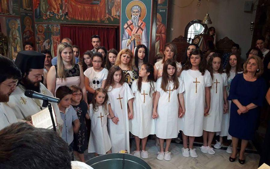 Οκτώ νέα Μέλη στην Εκκλησία του Χριστού