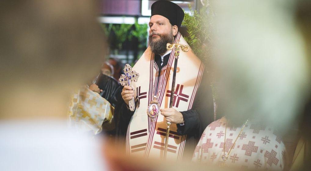 Μεθέορτος Αρχιερατικός Εσπερινός και Λιτάνευση Ιεράς Εικόνας Αγ. Κυπριανού στο Ν. Ηράκλειο