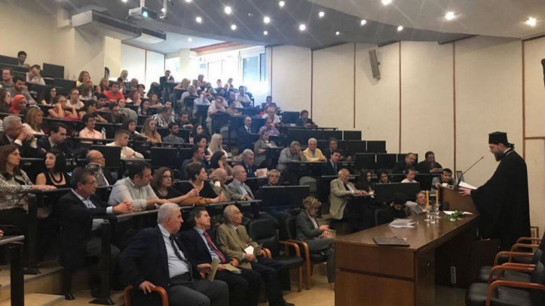 Ο Μητροπολίτης κ. Γαβριήλ ομιλητής στην έναρξη των Μετεκπαιδευτικών μαθημάτων της Ιατρικής Σχολής Αθηνών