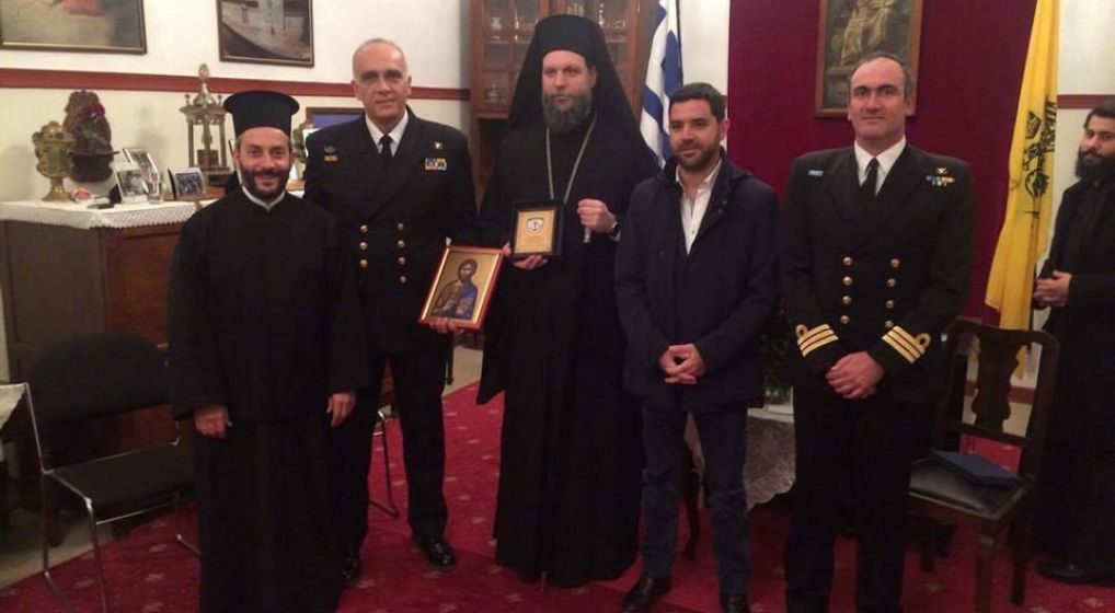Πανηγυρικός Εσπερινός Αγ. Νικολάου στο Κ.Ε. Πολεμικού Ναυτικού Πόρου