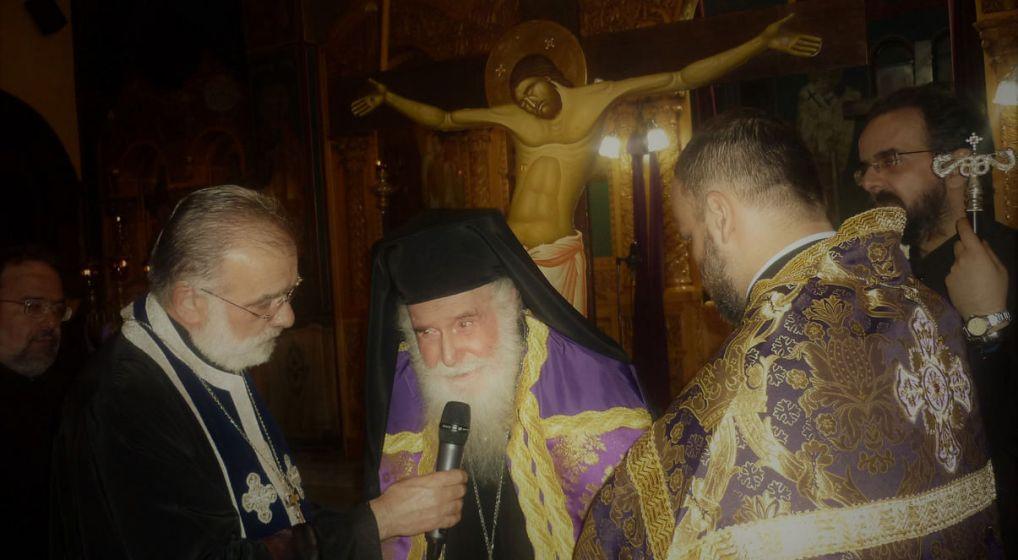 Η Ακολουθία των Αγ. Παθών στον Αγ. Κοσμά Ν. Φιλαδελφείας