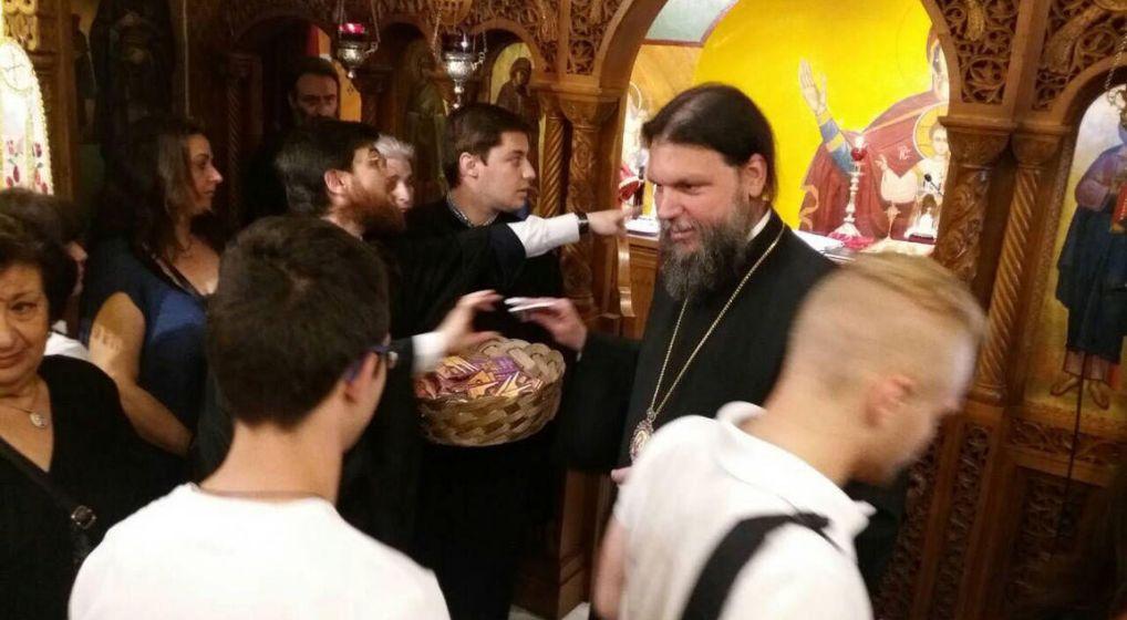 Ιερά Παράκληση για μαθητές από τον Μητροπολίτη Νέας Ιωνίας και Φιλαδελφείας κ. Γαβριήλ