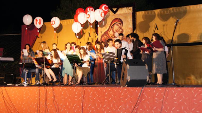 43η ενοριακή εορτή λήξεως νεανικών Συντροφιών Ι.Ν. Κοιμήσεως της Θεοτόκου Πρασίνου Λόφου