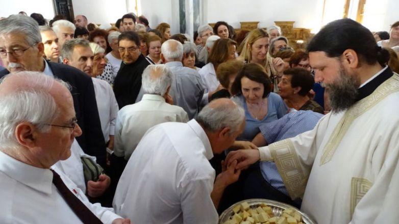 Η εορτή των Αγιορειτών Πατέρων στη Νέα Ιωνία