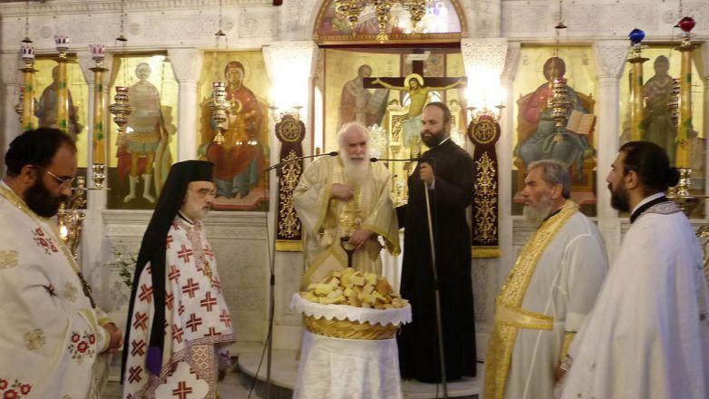 Η εορτή του Αγ. Νεκταρίου του εκ Βρυούλων στον Ι.Ν. Αγ. Γεωργίου Ν. Ιωνίας