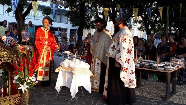 Η εορτή του Αγ. Φανουρίου στην Ευαγγελίστρια Ν. Χαλκηδόνας