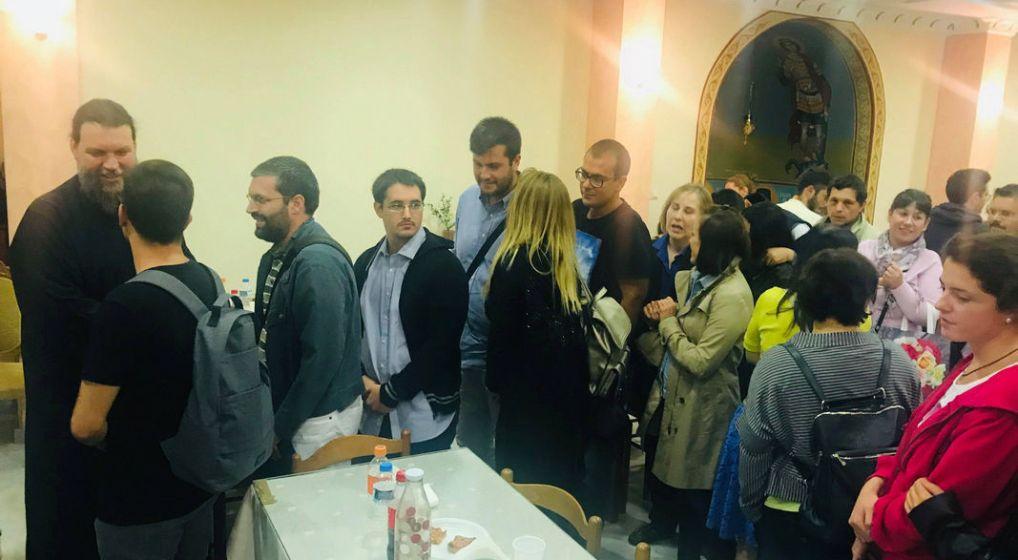 Πραγματοποιήθηκε η πρώτη συνάντηση του Μητροπολίτη κ. Γαβριήλ με του νέους της Ιεράς Μητροπόλεως