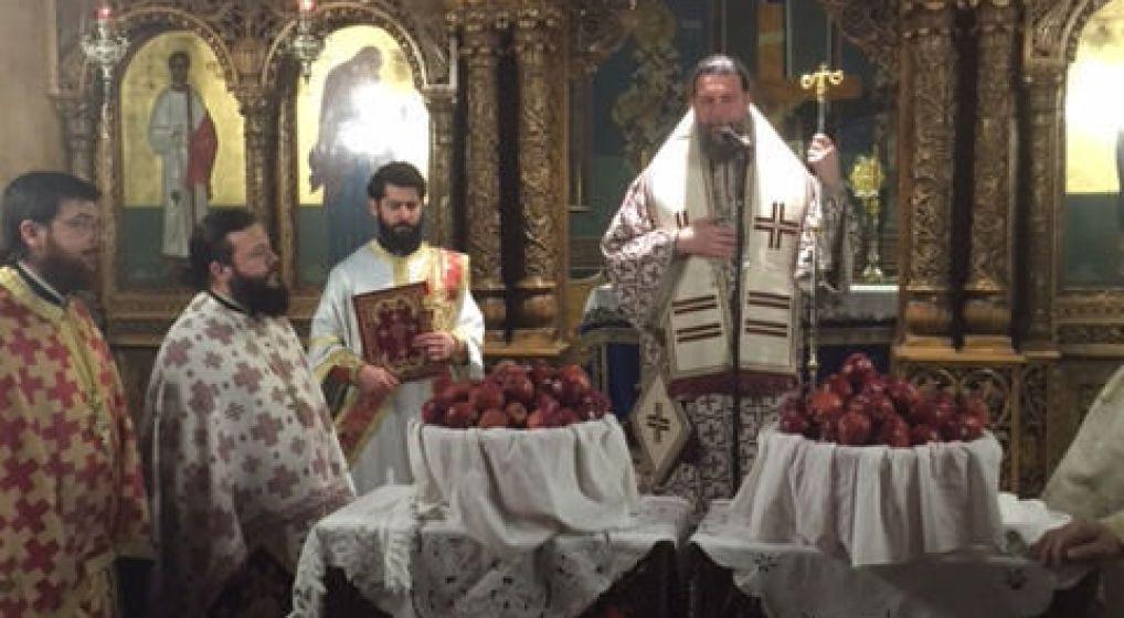 Αγρυπνία επί τη ενάρξει της Σαρακοστής των Χριστουγέννων στον Ι.Ν. Αγ. Στεφάνου Ν. Ιωνίας