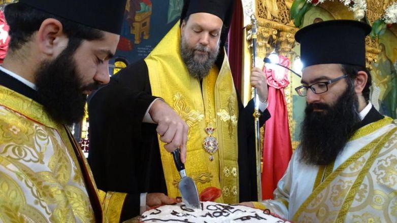 Η εορτή του Αγίου Βασιλείου στην Ι.Μ. Νέας Ιωνίας και Φιλαδελφείας