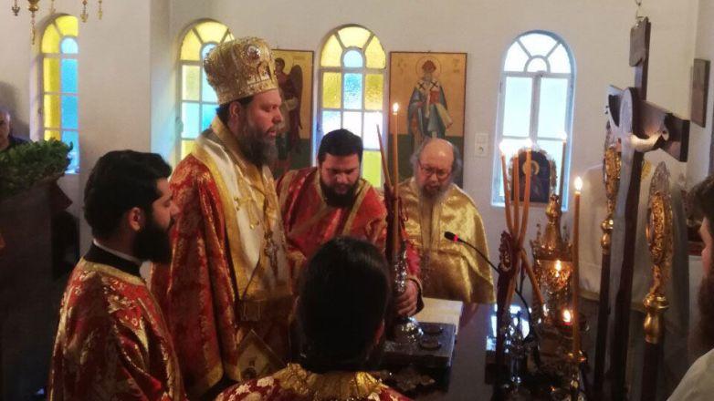 Η εορτή της Αγ. Φιλοθέης στην Καλογραίζα