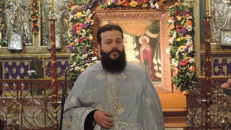 Πρωτοσύγκελλος Ιεράς Μητροπόλεως Αρχιμ. Επιφάνιος Αρβανίτης: «Το ακριβότερο στολίδι και διαμάντι που κοσμεί την προσωπικότητα της Παναγίας μας είναι η ταπείνωση»