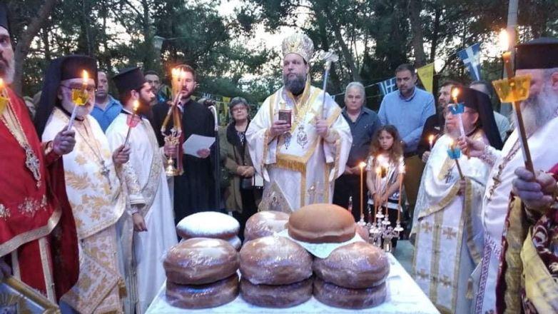 Η εορτή της Ζωοδόχου Πηγής στην Ι.Μ. Νέας Ιωνίας και Φιλαδελφείας