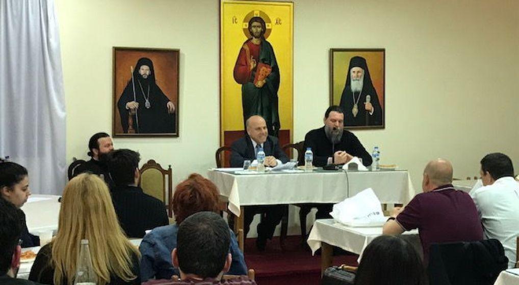 Ο Καθηγητής Απόστολος Νικολαΐδης στη Σύναξη Νέων της Ιεράς Μητροπόλεως