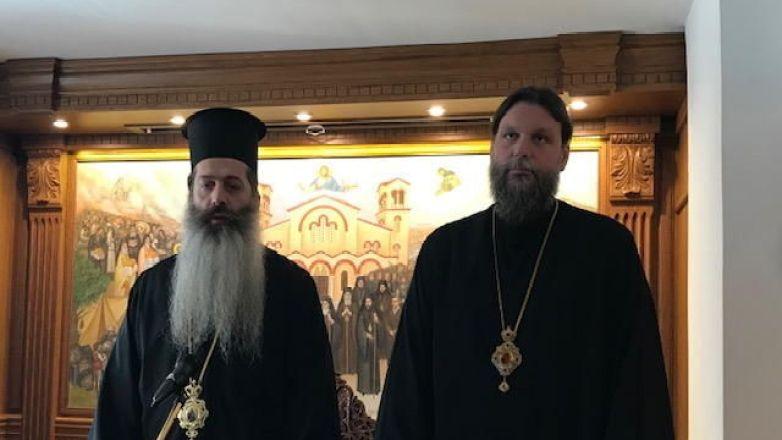 Ο Επίσκοπος Θεσπιών κ. Συμεών στην Ι.Μ. Νέας Ιωνίας και Φιλαδελφείας