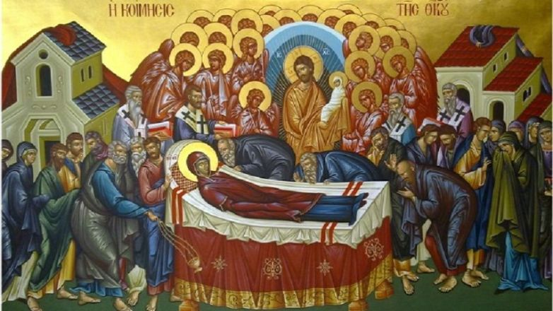 Ιερά Πανήγυρις Κοιμήσεως της Θεοτόκου στο Ηράκλειο Αττικής