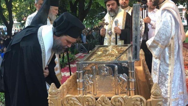 Ο Μητροπολίτης κ. Γαβριήλ στην εορτή του Αγ. Νήφωνος στη Ρουμανία