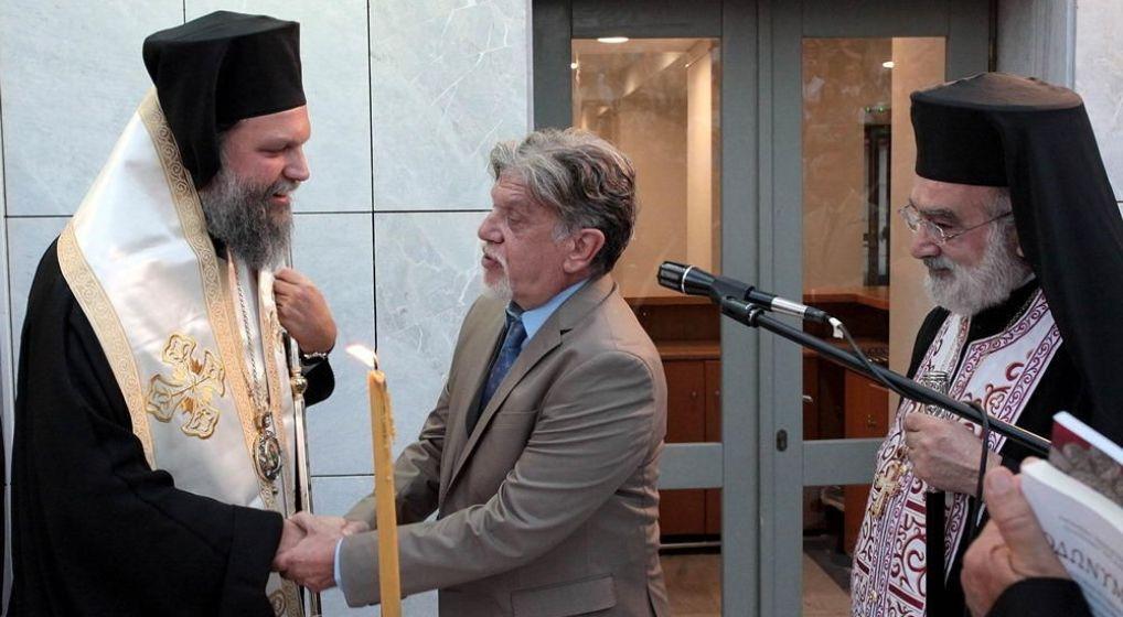 O Μητροπολίτης Ν. Ιωνίας κ. Γαβριήλ όρκισε το νέο δήμαρχο Ν. Φιλαδέλφειας-Ν. Χαλκηδόνας