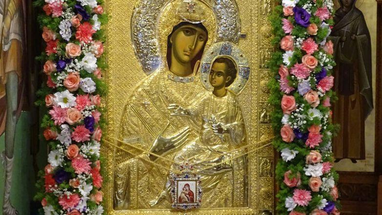 Ιερά Πανήγυρις Θαυματουργού Εικόνος Παναγίας «Βηματάρισσας» στη Νέα Ιωνία