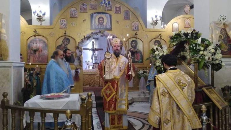 Η εορτή των Εισοδίων της Θεοτόκου στην Ι.Μ. Νέας Ιωνίας