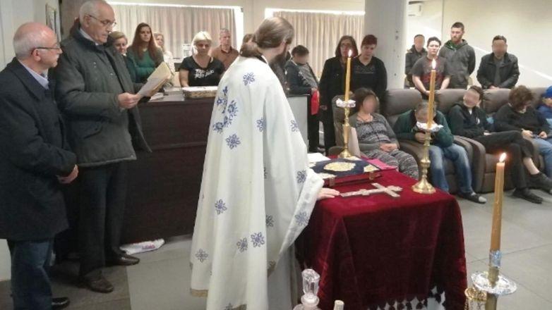 Θεία Λειτουργία στη μονάδα ΑμΚΕ ΙΑΣΙΣ