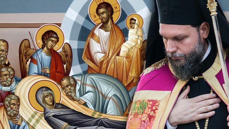 Προεόρτια Ιερά Αγρυπνία για την Κοίμηση της Θεοτόκου από τον Μητροπολίτη Ν. Ιωνίας κ. Γαβριήλ