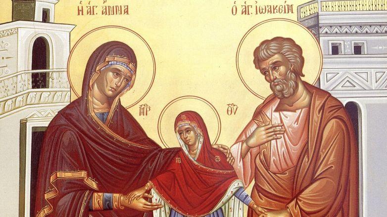 Αγρυπνία για την εορτή των Αγίων Θεοπατόρων Ιωακείμ και Άννης στο Μητροπολιτικό Παρεκκλήσιο Αγίας Παρασκευής στη Νέα Ιωνία