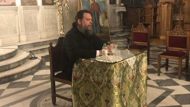 Πρώτη συνάντηση του Μητροπολίτη Ν. Ιωνίας κ. Γαβριήλ με του νέους της Ιεράς Μητροπόλεως