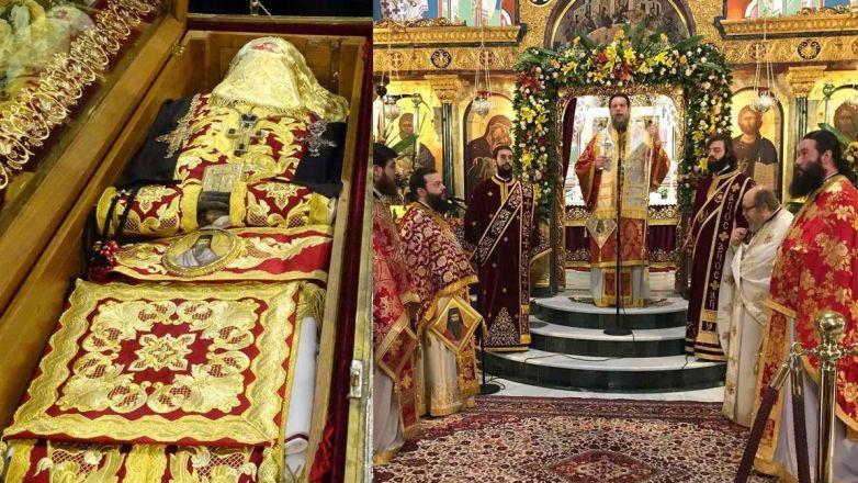 Η εορτή του Αγίου Γεωργίου του Νεαπολίτου, Πολιούχου της Ι.Μ. Νέας Ιωνίας