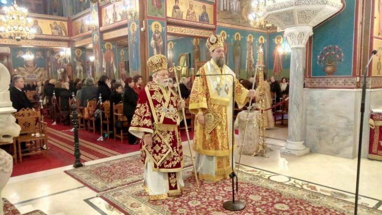 Εορτή Οσίου Μακαρίου Αιγυπτίου στη Νέα Ιωνία