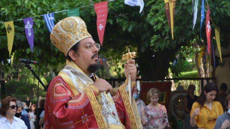 Ο Μητροπολίτης Μπουένος Άιρες κ. Ιωσήφ στον Άγ. Γεώργιο Ηρακλείου Αττικής για την εορτή των Ηπειρωτών Αγίων