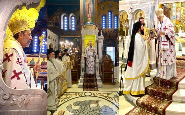 Ο Θεοφ. Επίσκοπος Κεράμων κ. Βαρθολομαίος στον Μητροπολιτικό Ναό της Ν. Ιωνίας