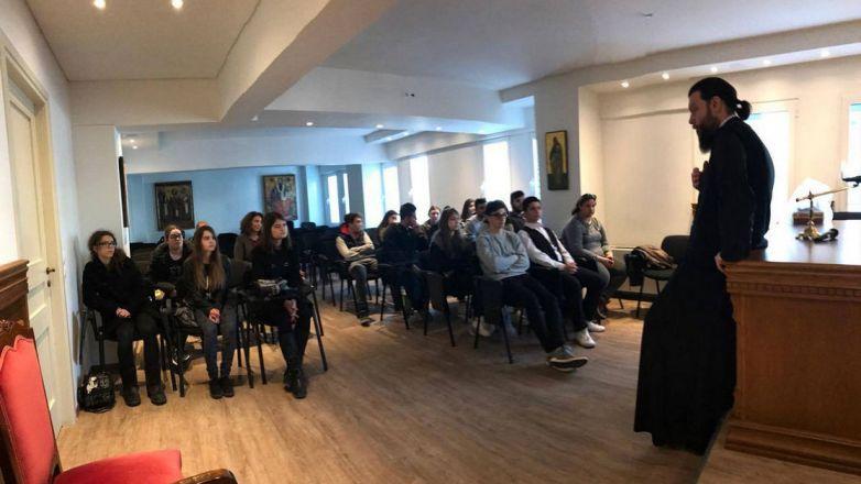 Εκπαιδευτική Επίσκεψη Μαθητών 21ου ΓΕΛ Αθηνών στην Ι.Μ. Νέας Ιωνίας και Φιλαδελφείας