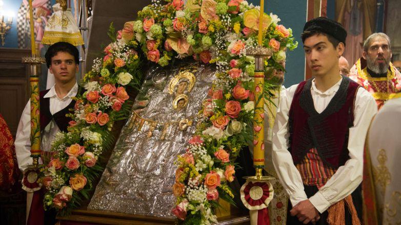 Εορτή Συνάξεως Παναγίας Διασωζούσης και πάντων των εν Ιωνία, Καππαδοκία, Πισιδία και Ν. Ιωνία τιμωμένων Αγίων στη Νέα Ιωνία